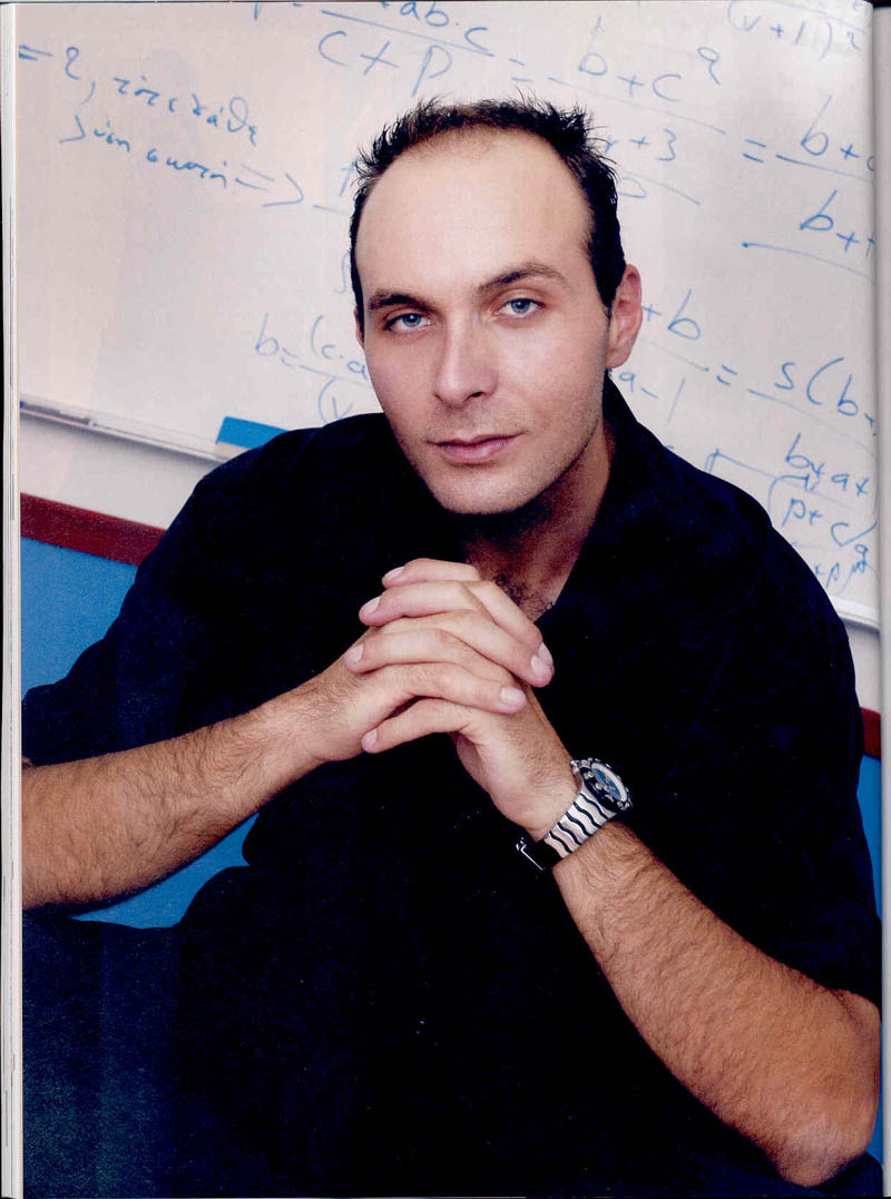 Dr Katsioulis on DownTown, 2003