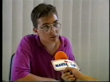 [Highest IQ]: Evangelos Katsioulis on Makedonia TV (1993) – version II