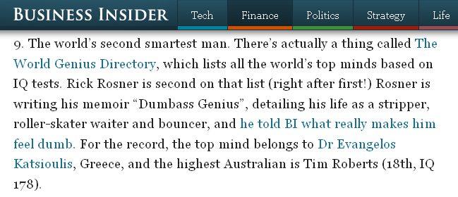Dr Katsioulis on Business Insider Australia (2014)
