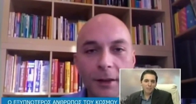 Dr Katsioulis' interview on Zougla TV (2012)