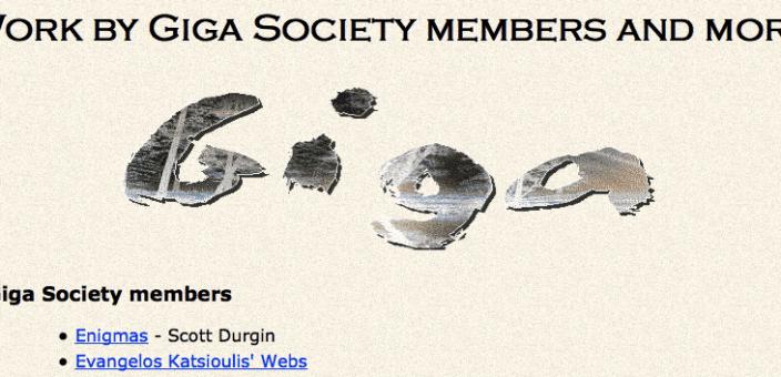 Dr Katsioulis' GIGA Society membership (2003)