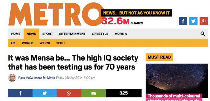 Dr Katsioulis' interview on Metro.co.uk (2014)